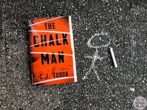 The Chalk Man by C.J. Tudor book image
